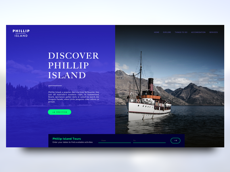 Travel Agency Landing Page #02 Gallery Image 1