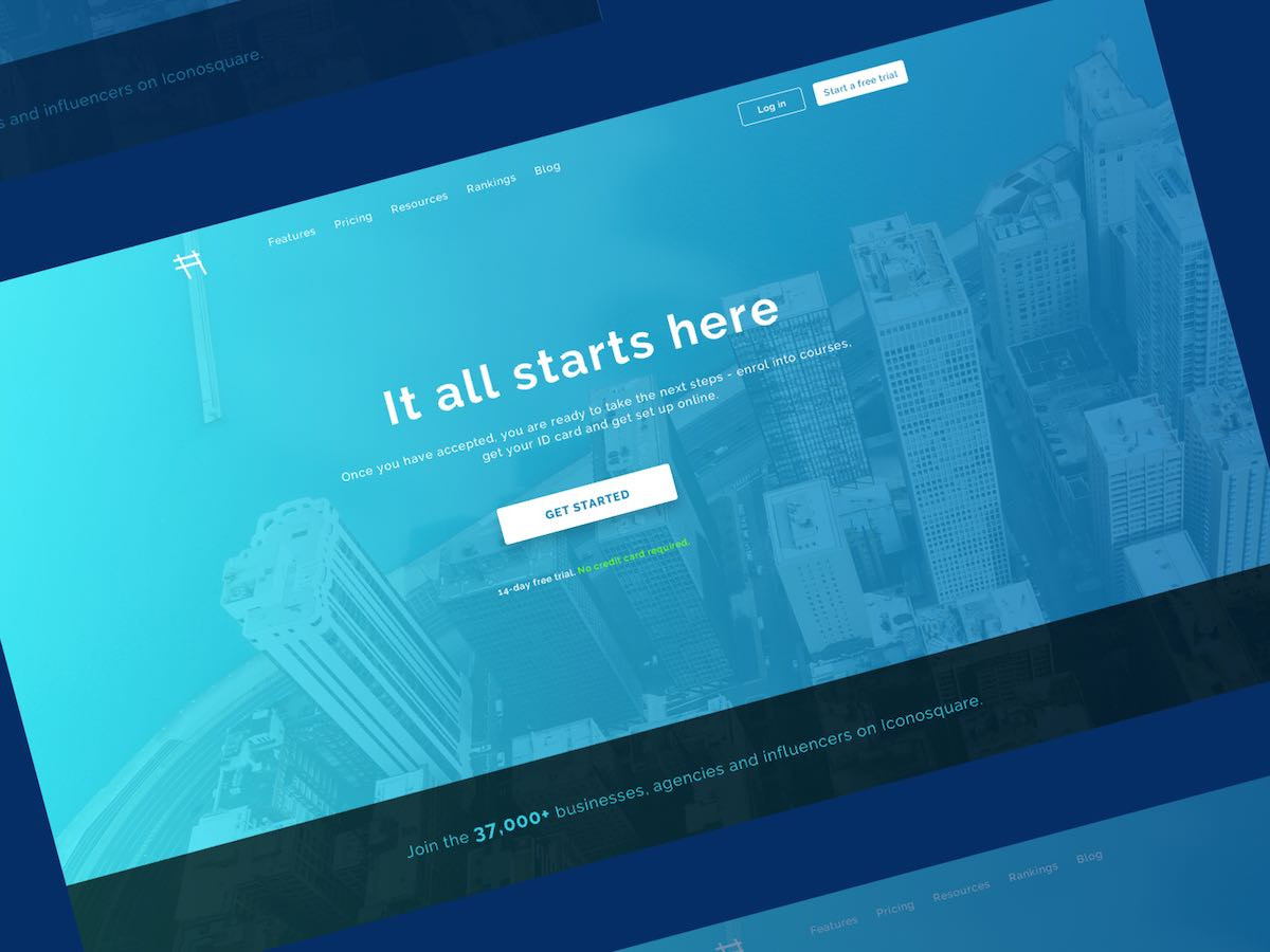 Hero Section for Business Landing Page Thumbnail